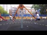 у детей нынче крутые детские площадки